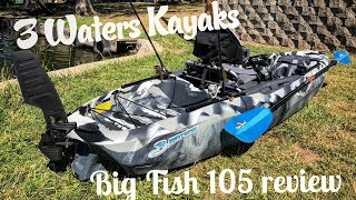 Big Fish 105: On Water Review + Capsize!