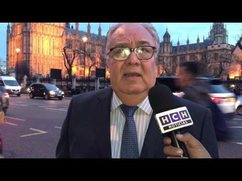 Embajador de Honduras en Reino Unido brinda información de la colonia de hondureños en U.K.
