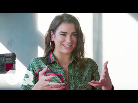 Dua Lipa On Her Collaboration With Coldplays Chris Martin  The Process  GQ