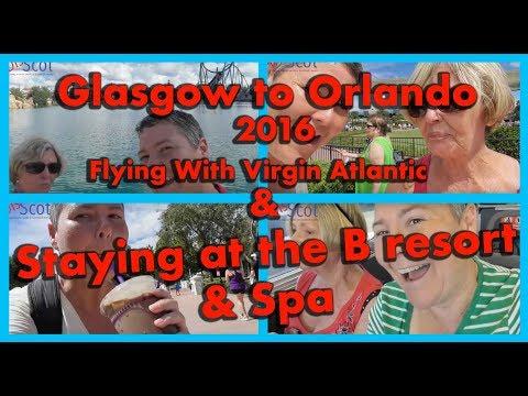 Orlando holiday flying from Glasgow to Orlando international Walt Disney World and Universal Studios