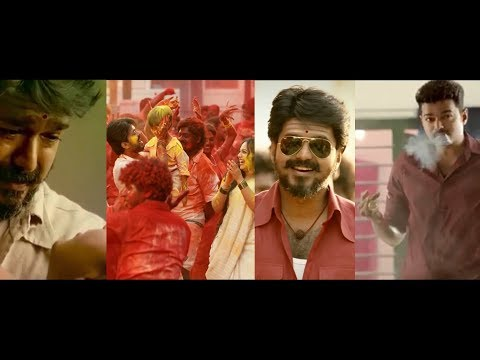 Thalapathy Vijay Sad + Romance + Massive  Scene In Mersal 30 Seconds WhatsApp Status
