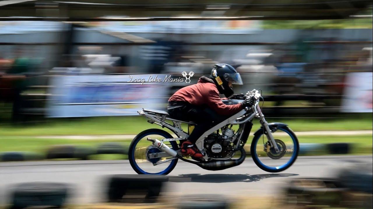video drag bike ninja 2tak std 155cc - youtube