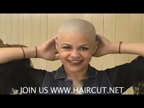 RIGHT DOWN THE MIDDLE ANGIE'S HAIRCUT DVD 203 HAIRCUT.NET PLEASE SUBSCRIBE!!