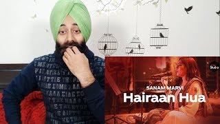 Indian Reaction on Coke Studio Season 12 | Hairaan Hua | Sanam Marvi  | PunjabiReel TV