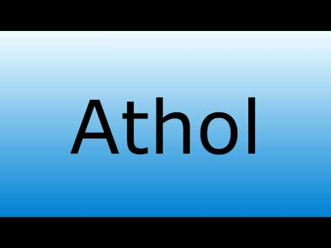 How To  Correctly Pronounce the City Name of Athol Idaho