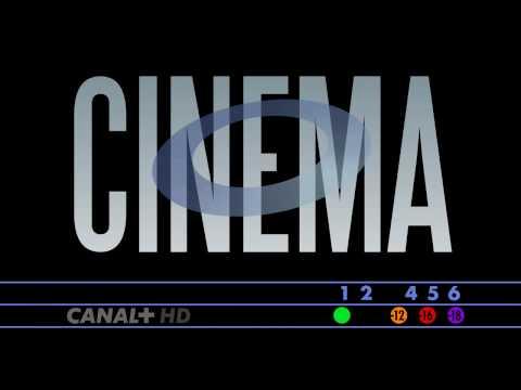 Ident mock Canal+ cinema