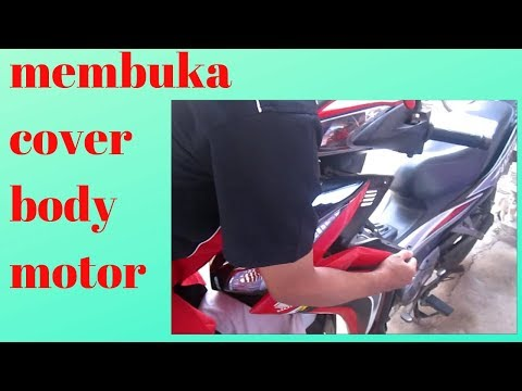 Cara Membuka Cover Body Motor Blade