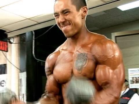 2009 USA Men's Bodybuilding Pump Room 1