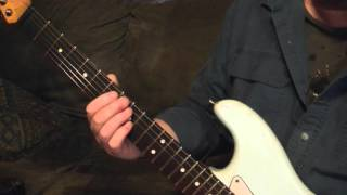 Robin Trower Lady Love Lesson Tutorial, how to play