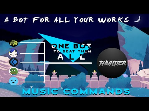 Music Commands Tutorial   Thunder V2.0   Discord.JS ...