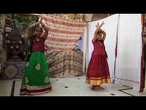 Sree Raghavam slokam by  p. Ananya, K. Sanvi. SSK NRUTHYALAY  HYD