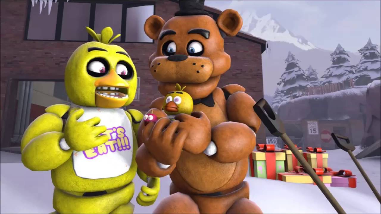 Five nights at freddys foxy x chica