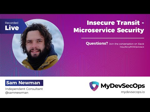 Insecure Transit - Microservice Security By Sam Newman