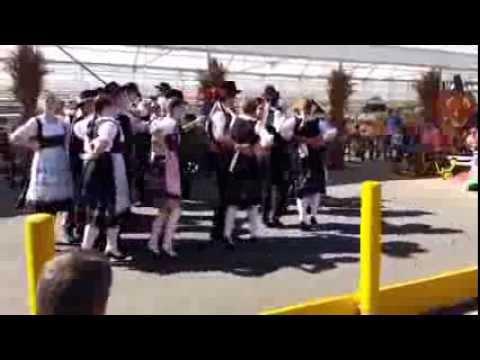 German Culture Oktoberfest Dancers