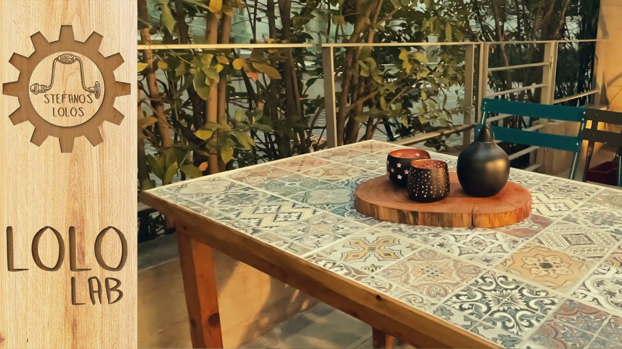 Video Spots for LoloLab: DIY Table with tiles