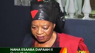 The Odwira Festival Of Aburi - Badwam Amamere on Adom TV (10-1-18)