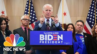 Joe Biden Hopes To 'Build A Movement' After Super Tuesday Wins | NBC News