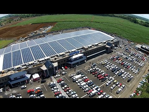 DHYBRID Universal Power Platform | Mauritius | Shopping Mall