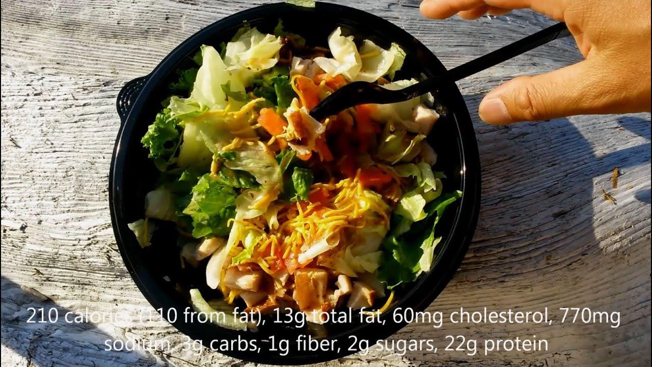 Arbys Roast Turkey Farmhouse Salad Review YouTube