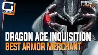 Dragon Age Inquisition - Best Armor Schematics Merchant