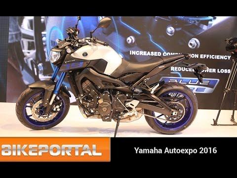 Yamaha MT-09 AutoExpo 2016 - Bikeportal