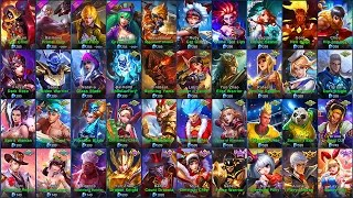 Mobile Legends ALL SKINS (iOS/Android)