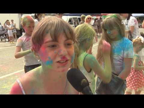 видео: Холи - фестиваль красок