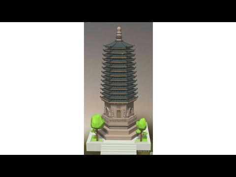 Pocket World 3d Android: Templo Tianning