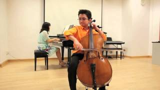 Super Fast Flight of the Bumble Bee, Cello, 11 year old Aoden