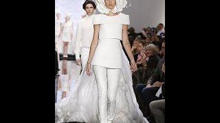 Топ-10 самых красивых и необычных свадебных платьев. Высокой мода.