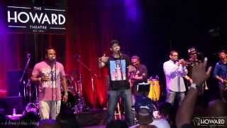 Vybe Band Howard Theater 8/29/14