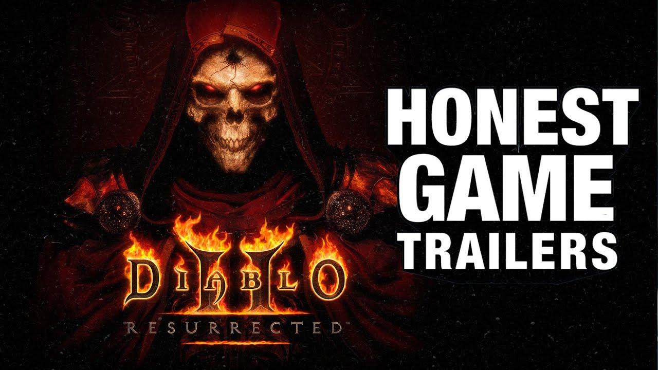 Download Honest Game Trailers | Diablo II: Resurrected
