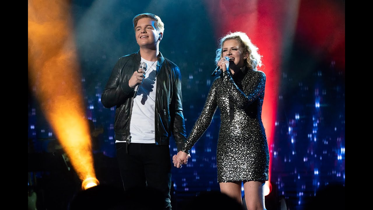 How Maddie Poppe and Caleb Lee Hutchinson Are Hitting All the Right Notes ...