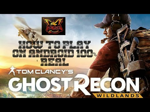 HOW TO DOWNLOAD AND PLAY GHOST RECON PS4 GAME ON ANDROID