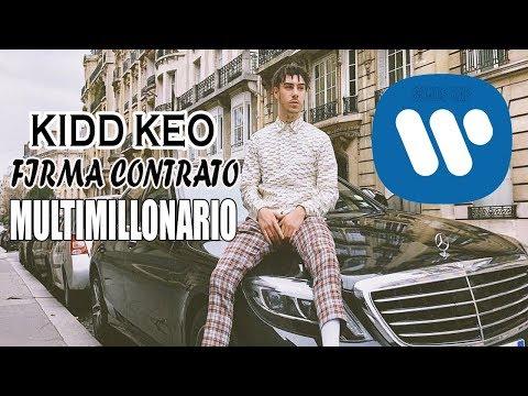 KIDD KEO Firma CONTRATO MULTIMILLONARIO Con Warner Music