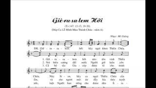 Giêrusalem Hỡi TV147   -  Mi Giáng  - ( b) .