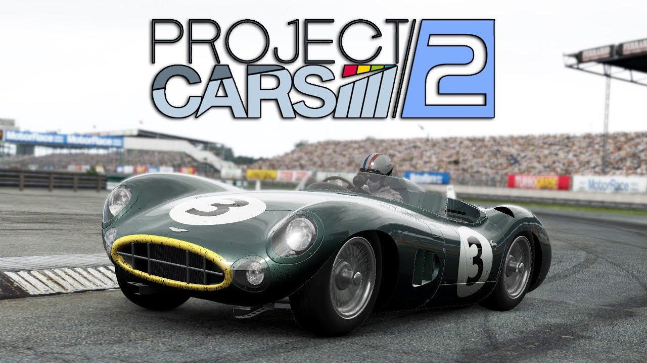 Project Cars 2 Wip Aston Martin Dbr1 300 Silverstone Classic Gp Youtube
