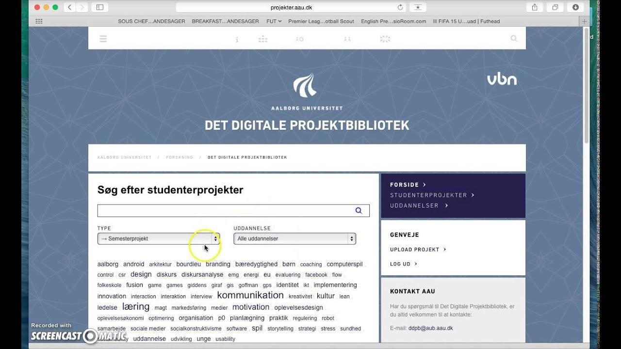 projektbibliotek aau