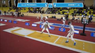 FencingWC Men's foil World Cup individual event in St. Petersburg.