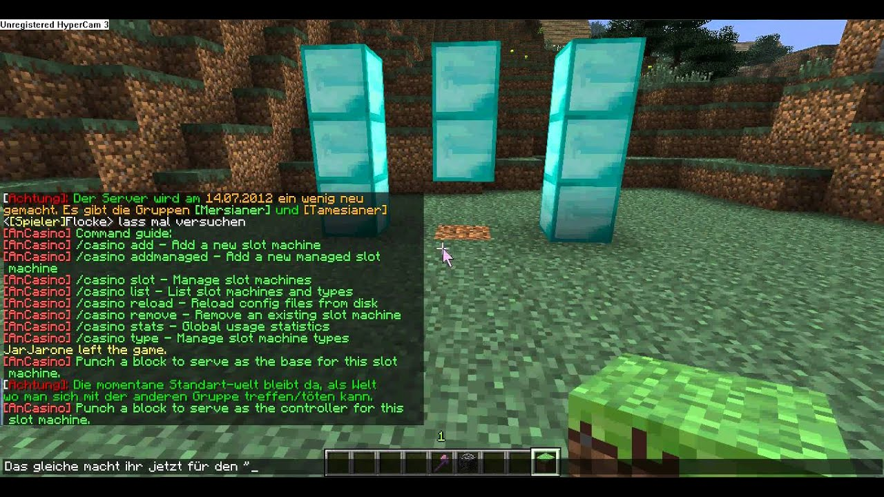 Minecraft Casino Plugin