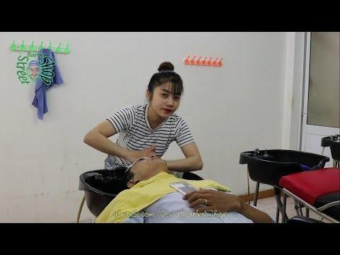 Barber Shop Vietnam Massage Face & Wash Hair