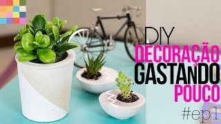 Como decorar gastando pouco – Mesa divertida DIY