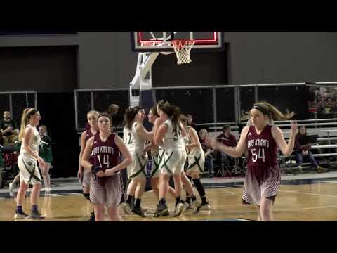 Class C Girls Quarter-Final #4 Penobscot Valley High School vs. #5 Narraguagus