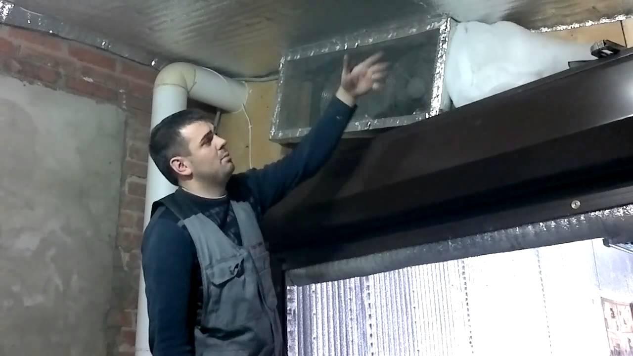 Вытяжка в гараж своими руками при покраске фото 180