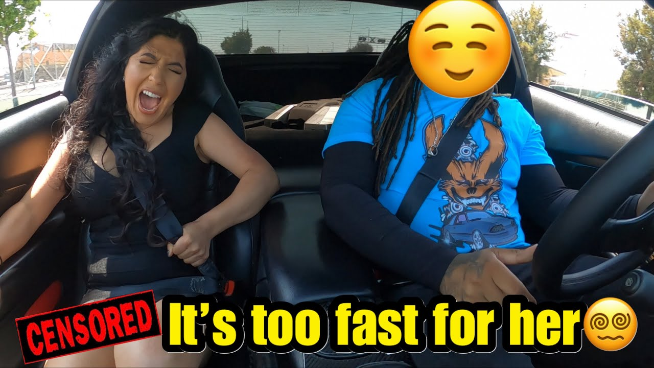 She Thought My Other Car Was Fast, But This One Is Way Faster!!!