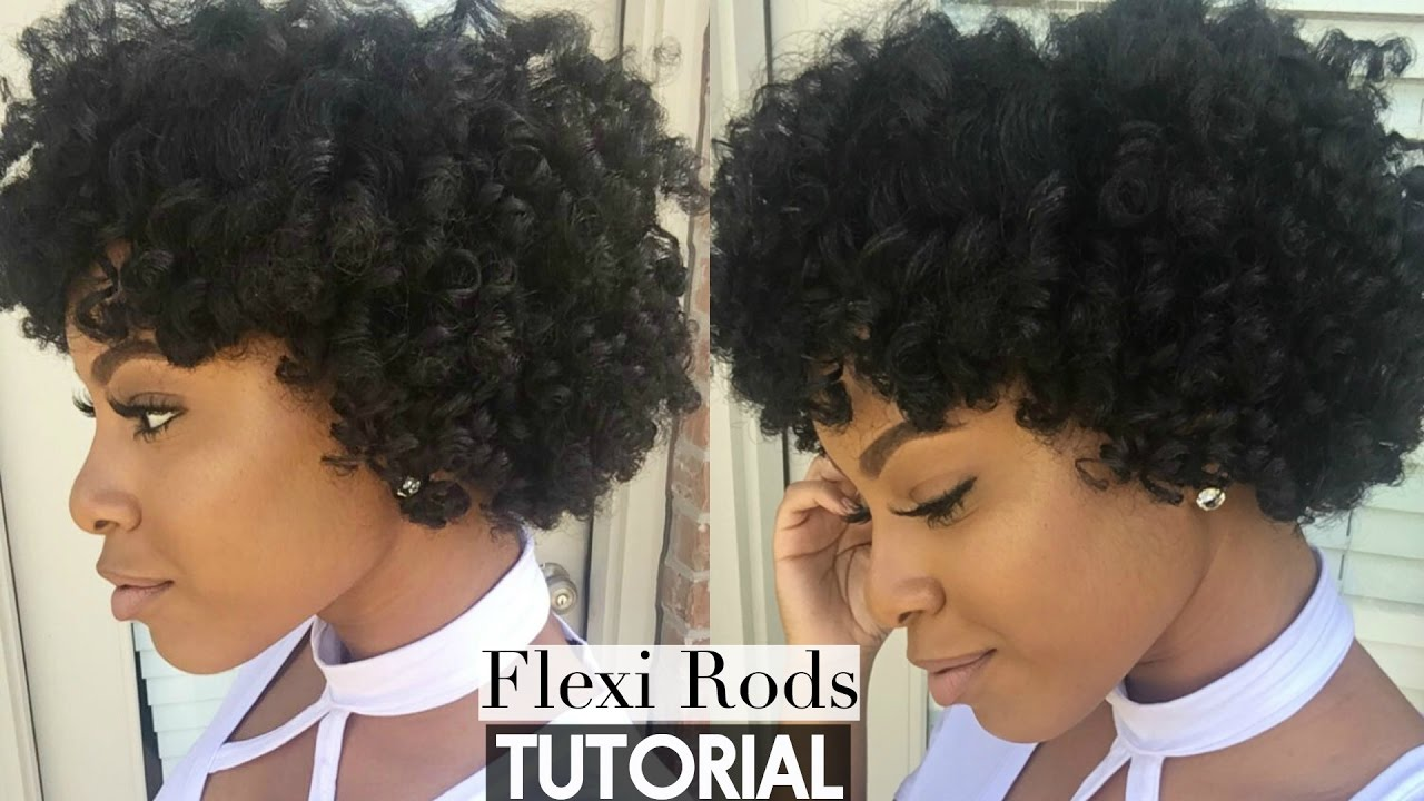 natural hair flexi rod set