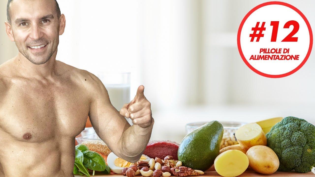 quale dieta fare per gli addominali