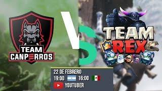 🔴Team Canperros VS TeamRex - Liga Latina Royale - Competitivo - Primer Repechaje - Parte 1