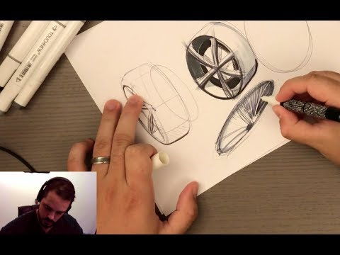 Message to My Subscribers & How to Sketch Wheels!