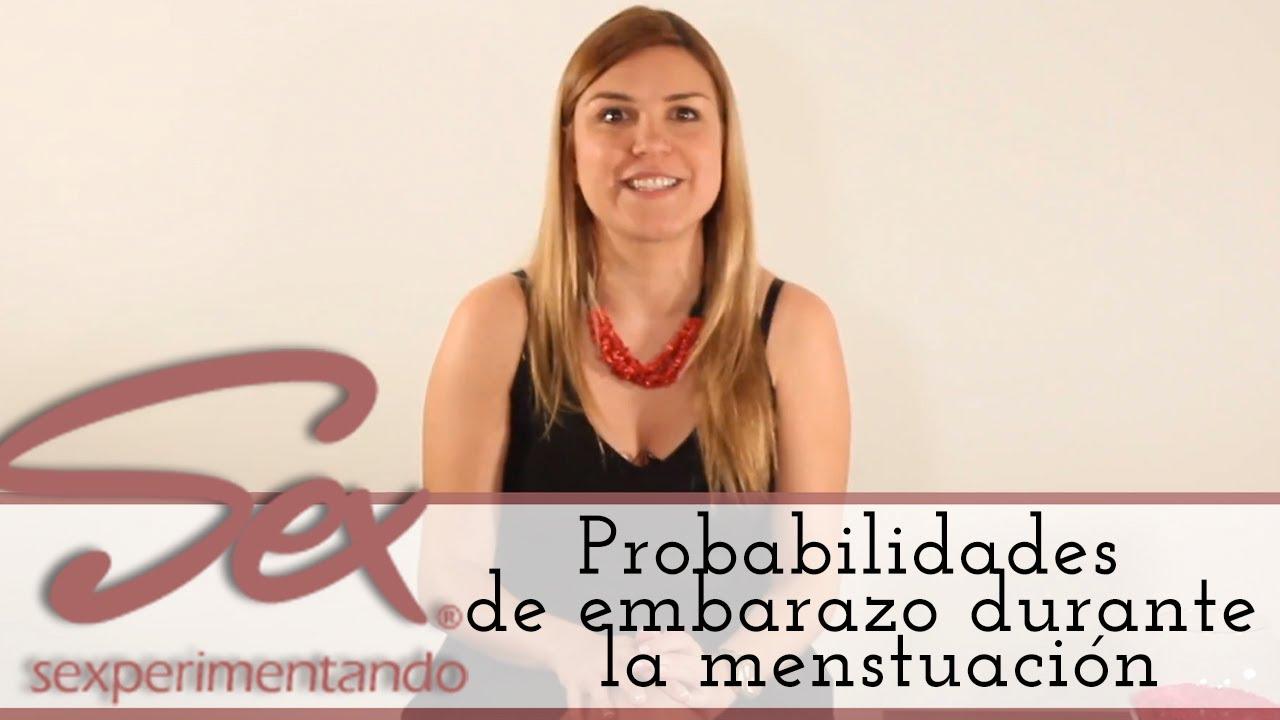 Probabilidad de quedar embarazada en los ultimos dias de la menstruacion